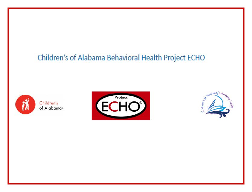 Project ECHO: Behavioral Health 2019 Banner