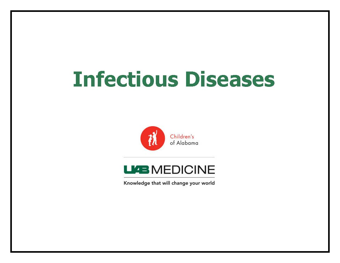 2019-2020 Pediatric Infectious Diseases Banner
